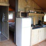 Lac du Causse Safaritent 4 persoons keuken