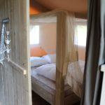 Safaritent 4 persoons slaapkamer