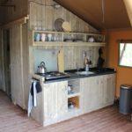 Lac du Causse Safaritent 5 persoons keuken