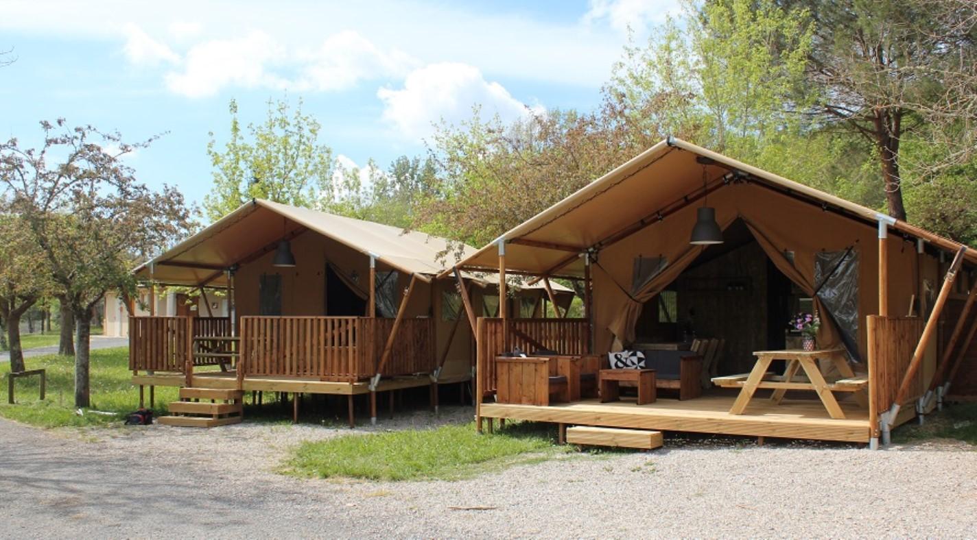 Lac du Causse Safarizelte 5 Personen