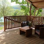 Lac du Causse Safaritent 4 persoons terras