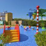 Riu zwembad kinderbad met waterspelen