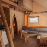 Riu safaritent loungebank