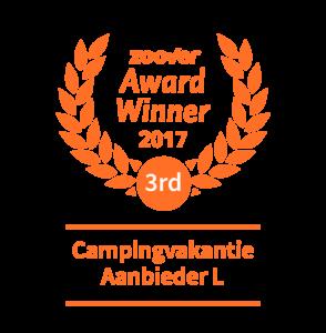 Zoover award winner Campingvakantie aanbieder