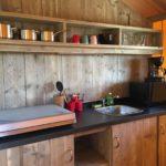 Sainte Suzanne Safaritent keuken 4p