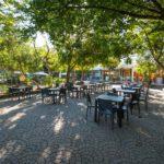 Glamping Alcantara restaurant