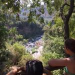Alcantara uitzicht op Gole Alcantara
