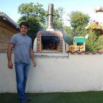 Du Bois de St. Hilaire hout gestookte pizza oven