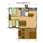 Luxury Lodge 40 - Grundriss