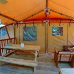 Camping Slamni Safarilodge 5 personen fisherman's glamping village