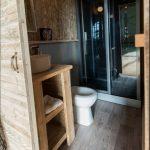 Safarizelt Badezimmer