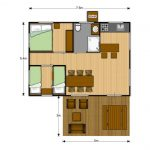 Plattegrond Luxery Lodge 40
