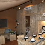Luxery Lodge 49 woongedeelte