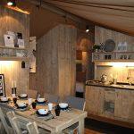 Luxery Lodge 49 keuken