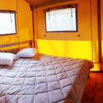 Cerza safaritent slaapkamer ouders