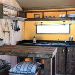 Dune luxery lodge tent keuken