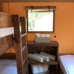 Dune luxery lodge tent kinder slaapkamer
