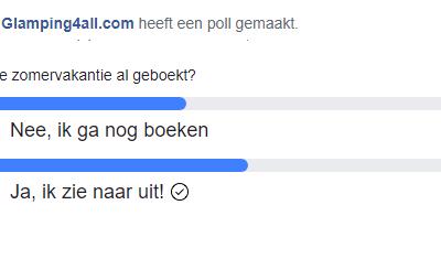 Poll: nog vakantie boeken?