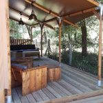 Terrasse Safari Lodge 8p Club Les Pins