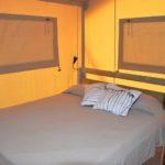 Alcantara safaritent slaapkamer