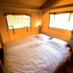 Quinta do Castanheiro safaritent slaapkamer