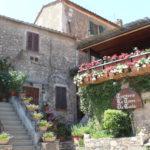 Capalbio dorp