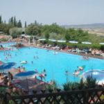 Glamping Resort Vallicella zwembad in Toscane