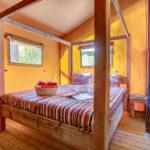 Sandaya Lodge Luxe slaapkamer ouders