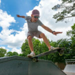 Skatebaan camping les 2 Fontaines in Bretagne
