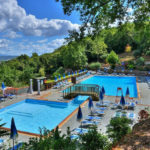 Glamping Resort Vallicella zwembad voor kinderen en voor volwassenen
