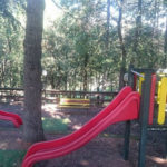Glamping Resort Vallicella speeltuin