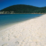 Witte stranden van Cala Violina Toscaanse kust dichtbij Camping Blucamp