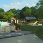 Zwembad en speeltuin les Franquettes