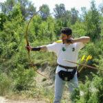 Boogschieten op Pian di Boccio