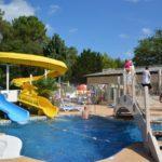 Camping Lou Pignada Zwembad met glijbanen