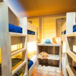 Lodge 8p slaapkamer stapelbedden
