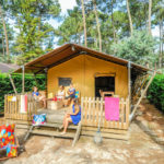 Ecoluxe Lodge 5 pers Camping Le Vieux Port