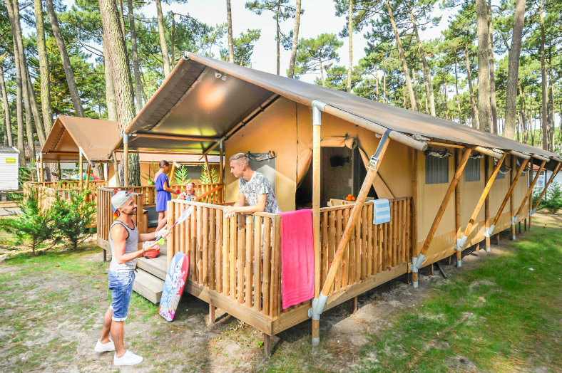 Ecoluxe lodge Camping le Vieux Port 8p