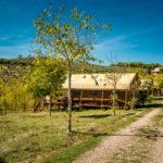 Lodges op rij bij Pian di Boccio