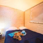 Lou Pignada slaapkamer safaritent