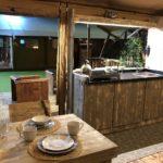 Luxury Lodge 40 Küche