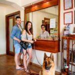 Receptie en ontvangst Tenuta Regina, ook voor honden