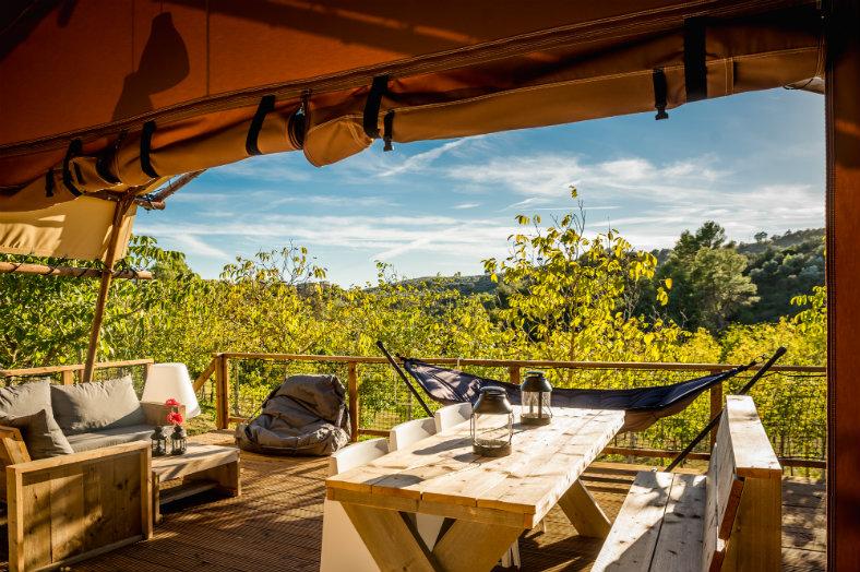 Terras met uitzicht Pian di Boccio