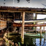 botenhuis bij Tenuta Regina