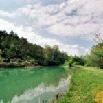 meertje op de camping Pian di Boccio met boogschieten
