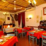 restaurant binnen Pian di Boccio