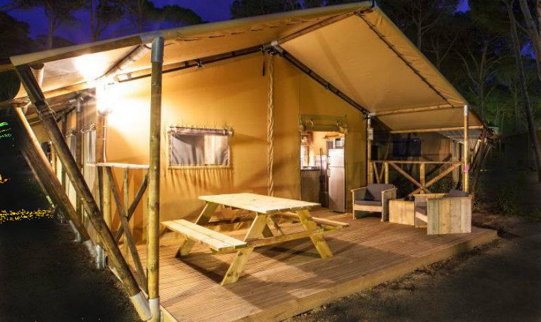 Camping Bellevue - WOODY 27 exterieur
