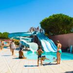 Camping Le Bellevue- glijbaan zwembad