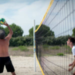 Camping Le Bellevue - sportveld volleybal