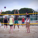 Camping Bellevue - volleybalterrein